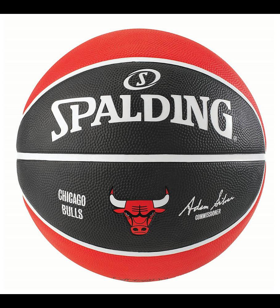 Balón Basketball Spalding NBA Teams Chicago Bulls Tamaño 7