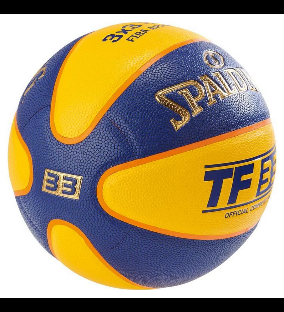 Balón Basketball Spalding TF 33 (3x3) FIBA Tamaño 6