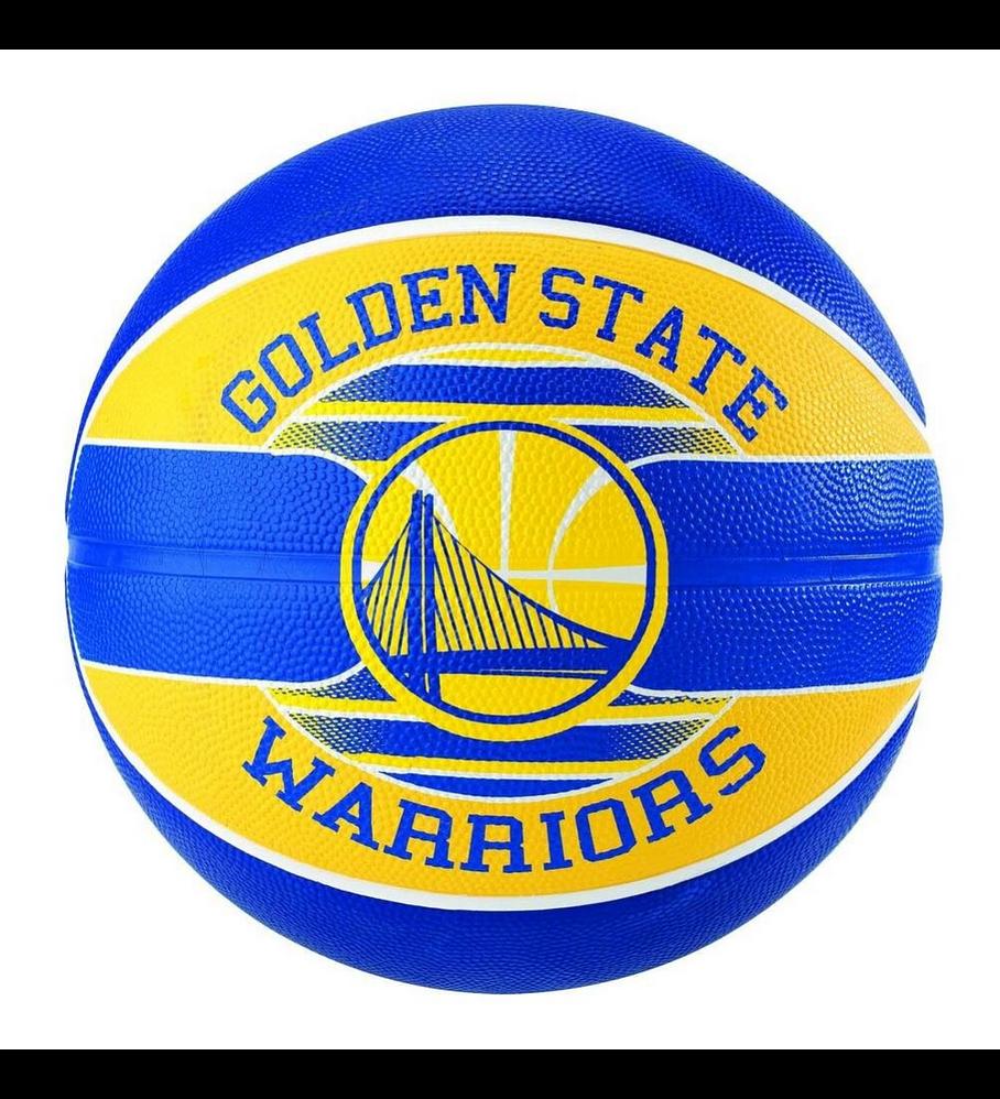 Balón Basketball Spalding NBA Teams Golden State Warriors Tamaño 7
