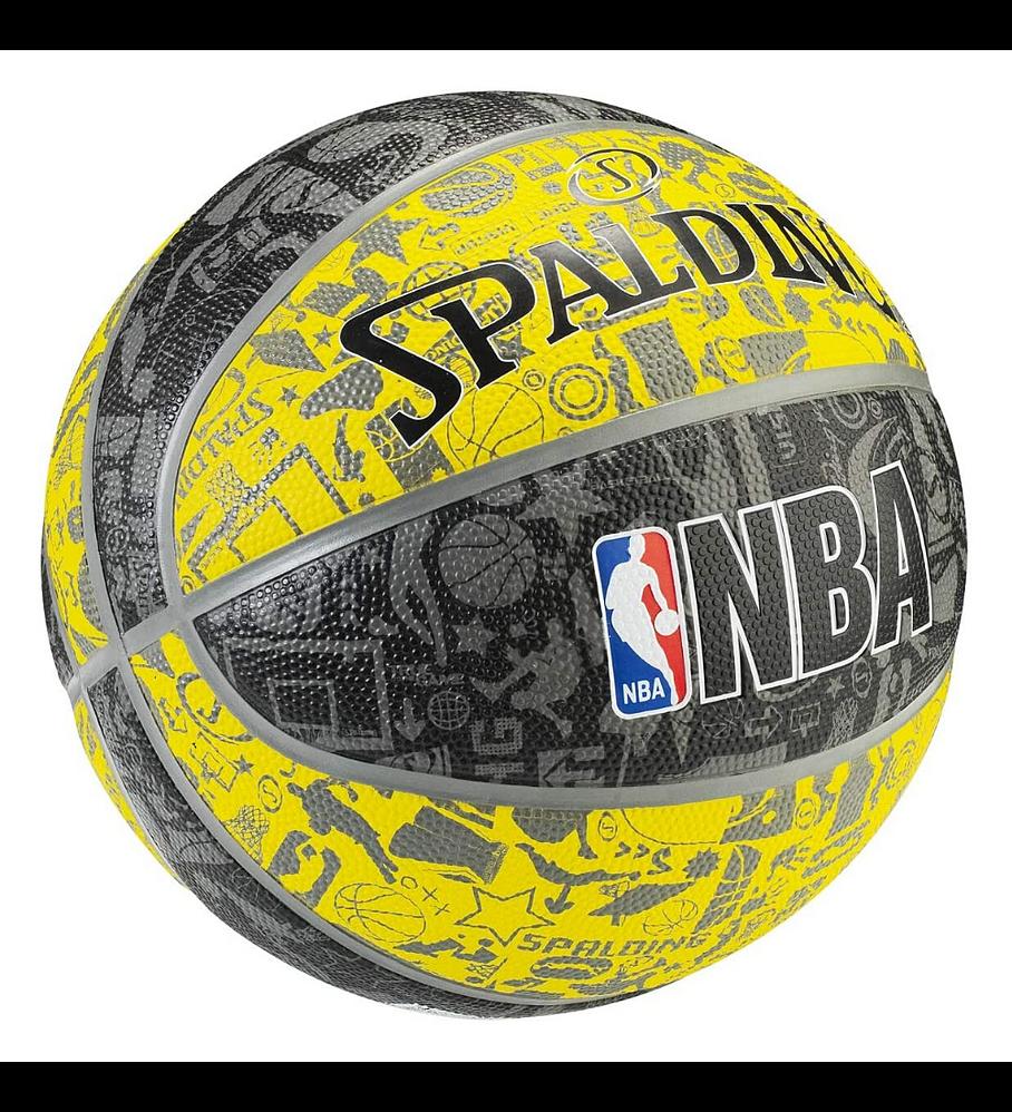 Balón Basketball Spalding NBA Graffiti Tamaño 7
