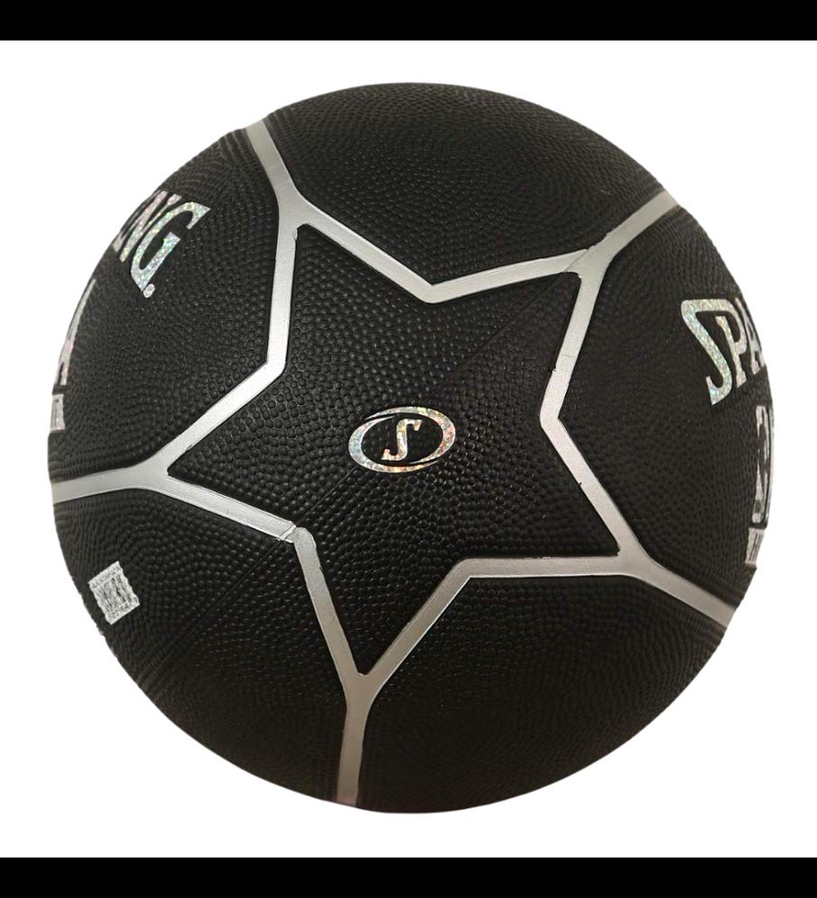 Balón Basketball Spalding NBA Highlight Hologram Tamaño 7 Plata