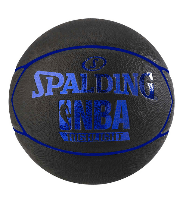 Balón Basketball Spalding NBA Highlight Hologram Tamaño 7 Azul