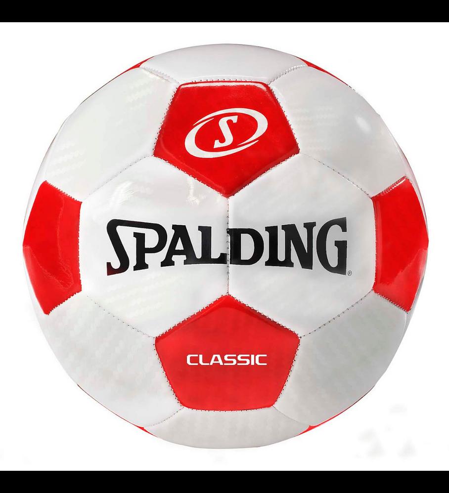 Balón Futbol Spalding Tornado Classic Tamaño 5 Rojo