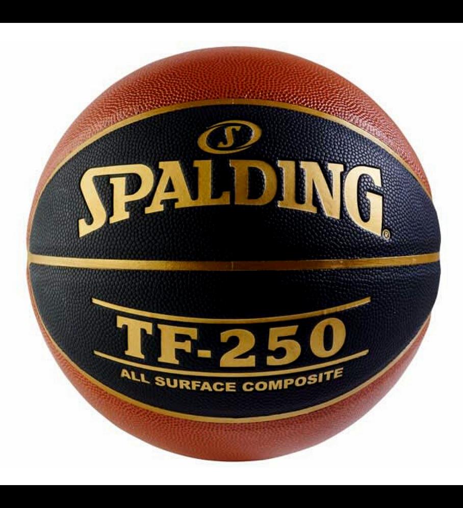 Balón Basketball Spalding TF 250 All Surface Tamaño 6