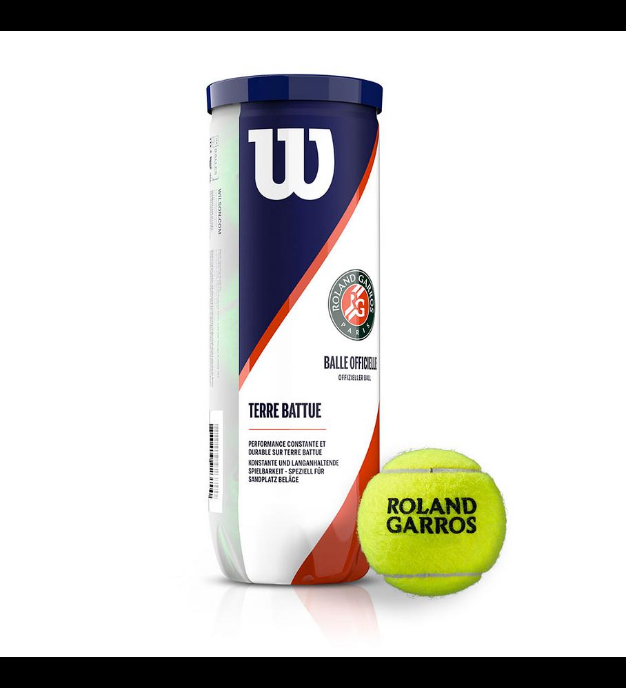 Pelotas Tenis Wilson Roland Garros Clay Arcilla 3 Pelotas Wilson