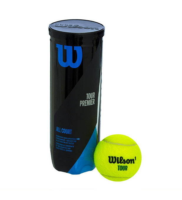Pelotas Tenis Wilson Tour Premier All Court 3 Pelotas Wilson