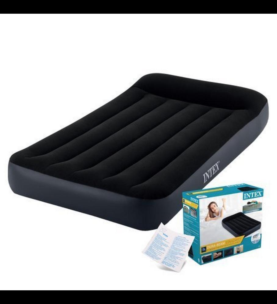Colchón Inflable Eléctrico Intex 1,5 Plazas 99x191x25 Cm Pillow Rest Classic