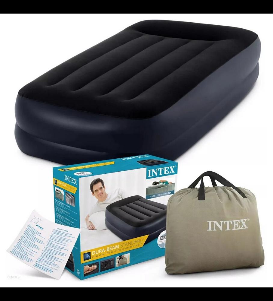Colchón Inflable Eléctrico Intex 1,5 Plazas 99x191x42 Cm Pillow Rest Raised