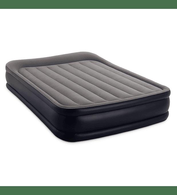 Colchón Inflable Eléctrico Intex 2 Plazas 152x203x42 Cm Deluxe Pillow Rest Raised
