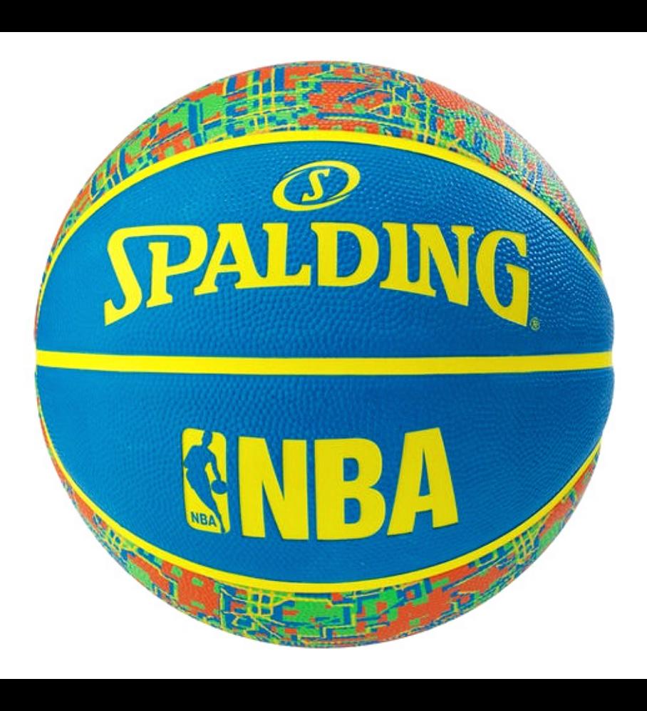 Balón Basketball Spalding NBA Trend Series Designer Digital Tamaño 7