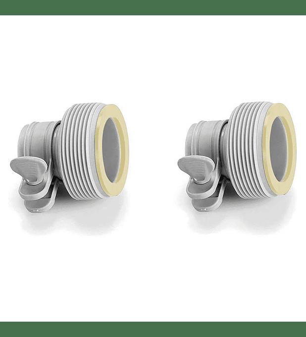 Adaptador Mangueras Intex de 32 mm a 38 mm Pack 2 Unidades