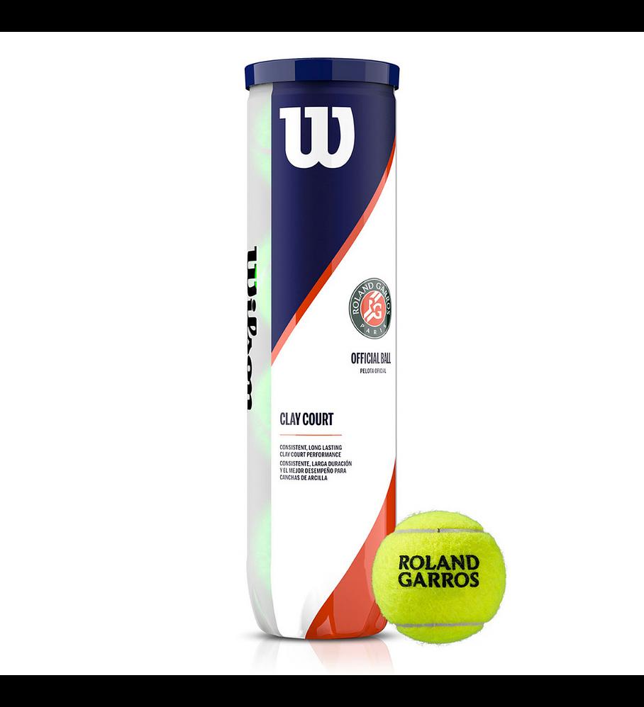 Pelotas Tenis Wilson Roland Garros Clay Arcilla 4 Und.