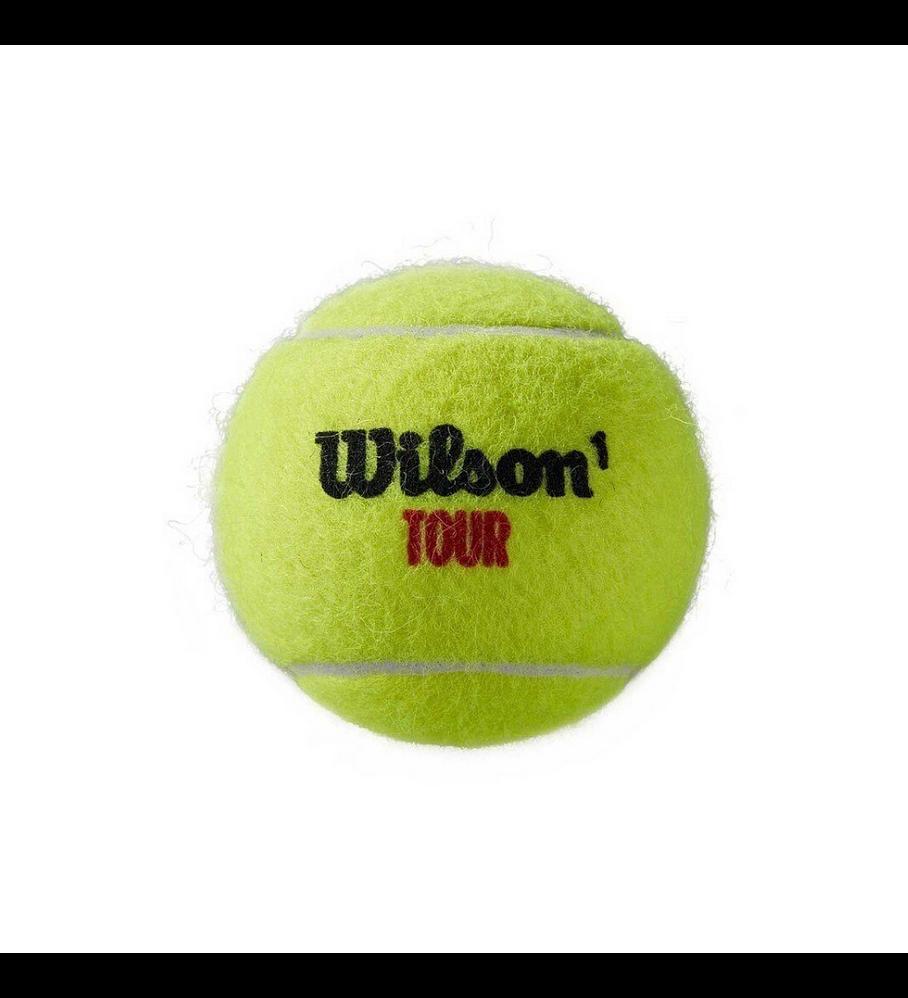 Pelotas Tenis Wilson Tour Premier Clay Arcilla 4 Und.