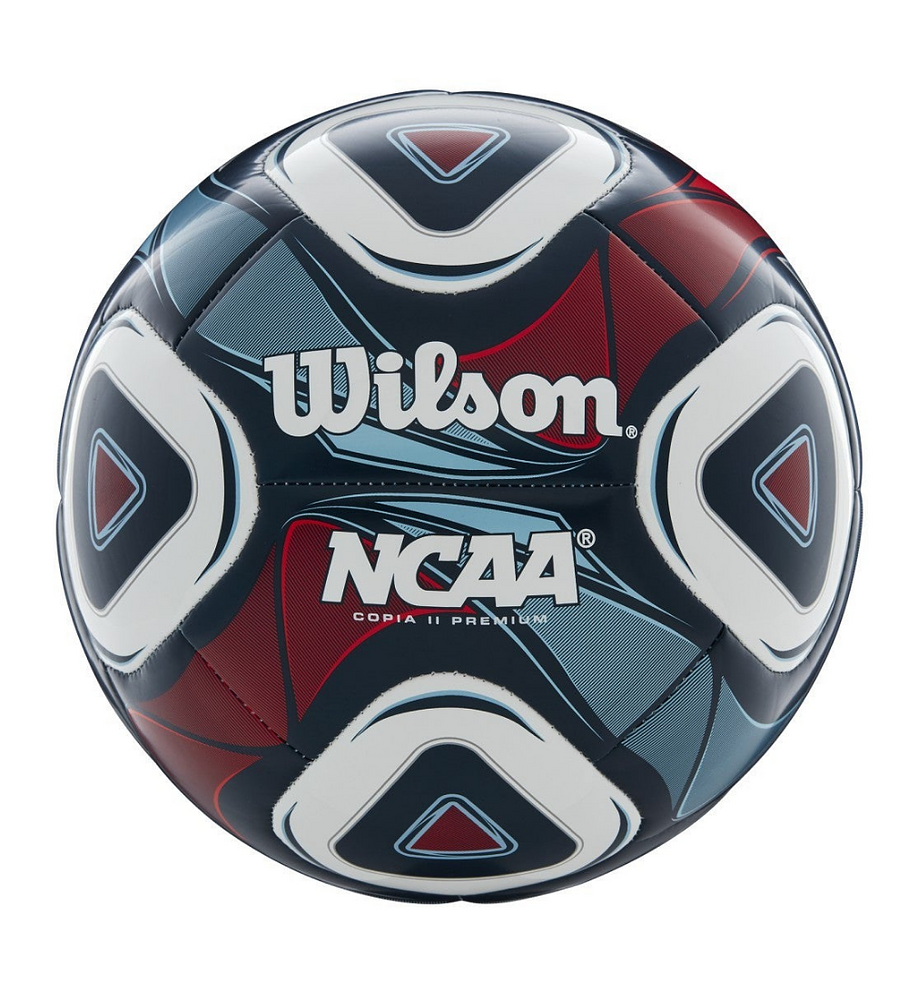 Balón Futbol Wilson NCAA Cop. II Premium Tamaño 5 Azul