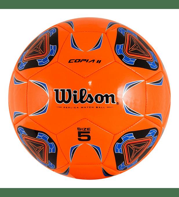 Balón Futbol Wilson Cop. II Tamaño 5 Naranja