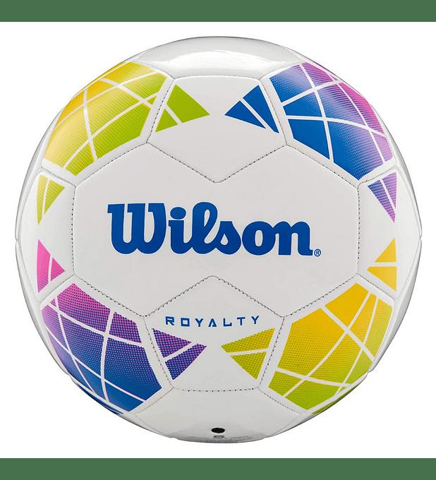 Balón Futbol Wilson Royalty Diamond Tamaño 5 Colores