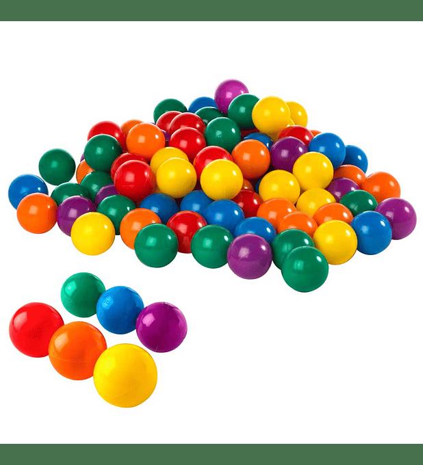Pelotas Entretenidas Intex 6,5 cm 100 Unidades Small Fun Ballz