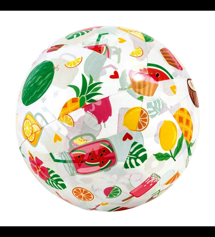 Pelota Inflable Intex Tropical 51 Cm Lively Print Ball