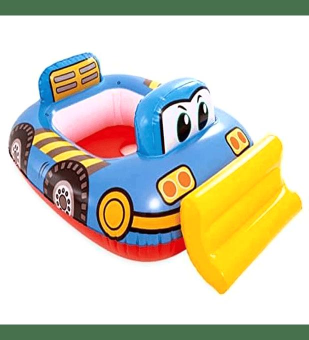 Flotador Inflable Bebe Intex Camión de Construcción Capacidad 15 Kg Kiddie Float