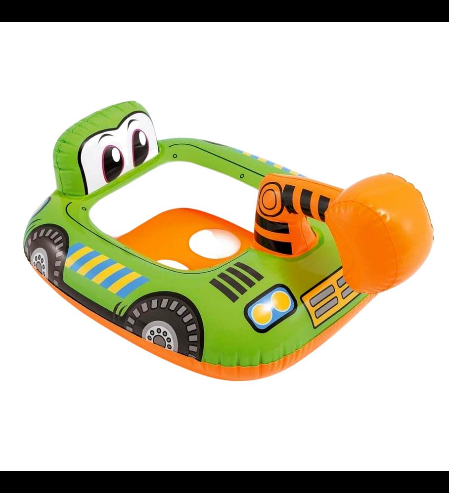 Flotador Inflable Bebe Intex Excavadora Capacidad 15 Kg Kiddie Float