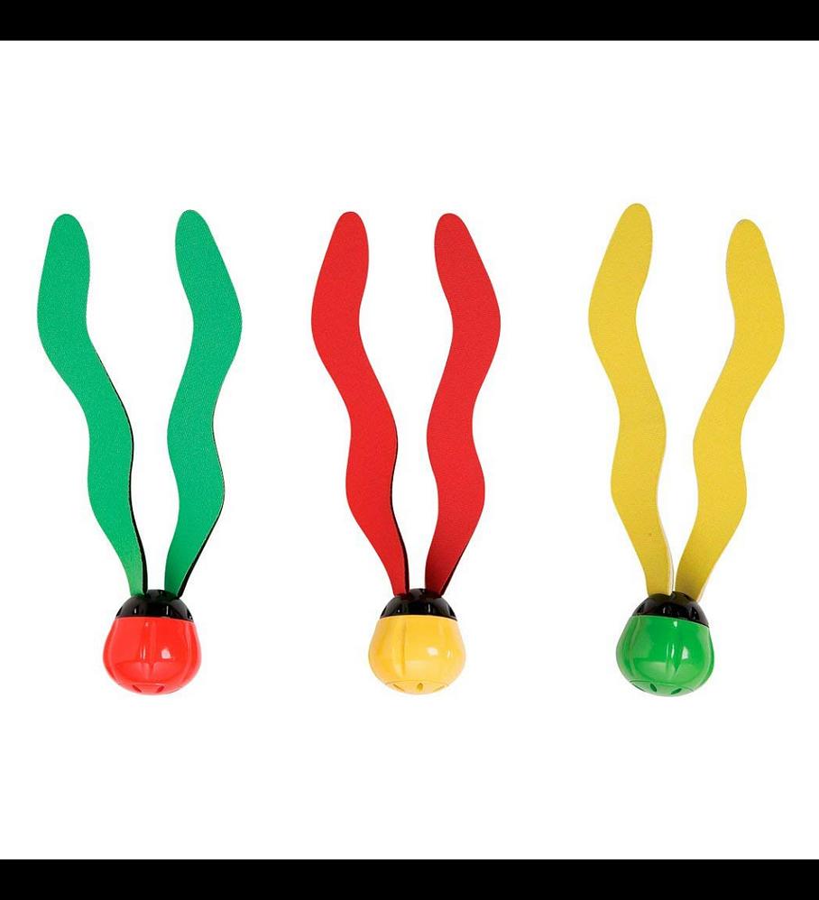 Juego Piscina Intex 3 Pelotas con Algas Bajo el Agua Fun Balls