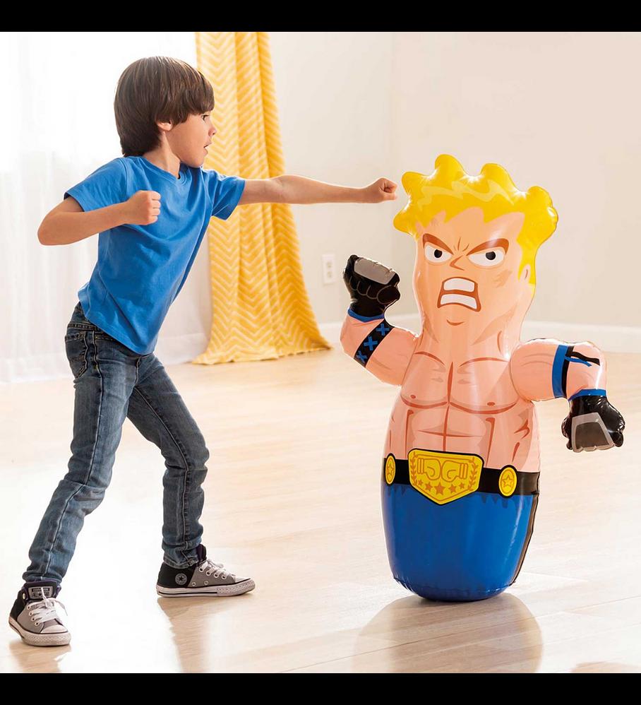 Luchador Porfiado Inflable Intex 3-D Bop Bags
