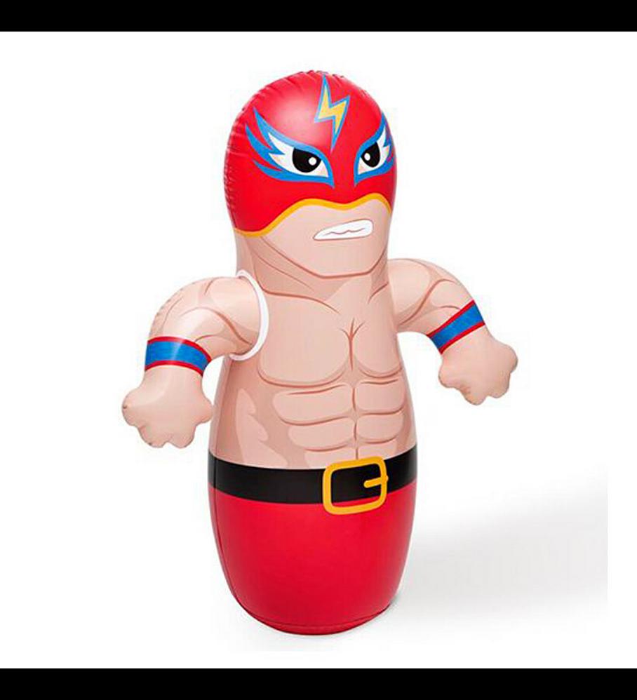 Boxeador Porfiado Inflable Intex 3-D Bop Bags