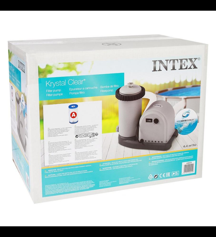 Bomba Intex Para Piscina 5.678 Lts/hr Filter Pumps + Filtro Tipo A