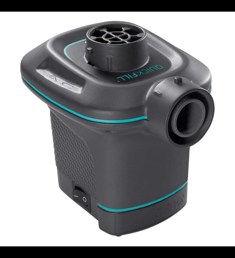 Inflador Eléctrico Intex Corriente 220-240V Quick-Fill AC 650 Lts/Min