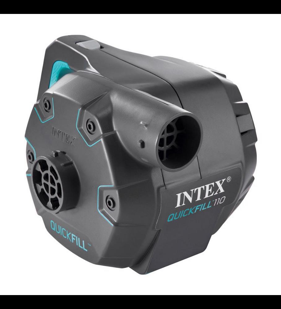 Inflador Eléctrico Intex Corriente 220-240V Quick-Fill AC 1.100 Lts/Min