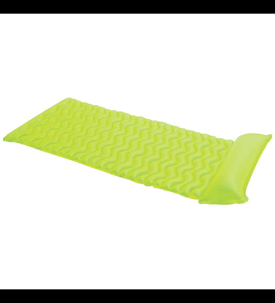 Flotador Inflable Mat Intex 229x86 Cm Tote-n-Float Verde