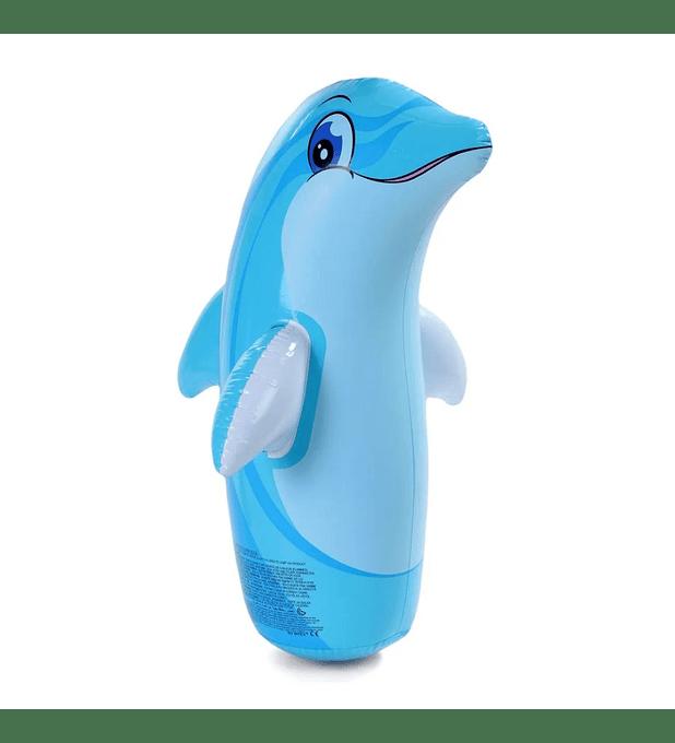Delfin Porfiado Inflable Intex 3-D Bop Bags