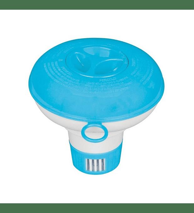 Dispensador de Cloro Flotante Intex para Piscinas Chemical Dispenser 12.7 Cm