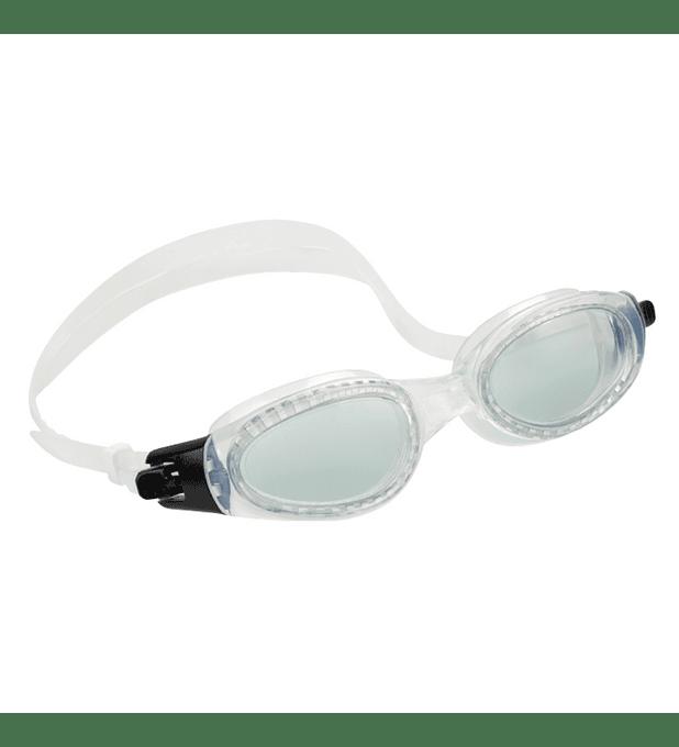 Lentes de Agua Intex Anteojos Natación Silicone Sport Master Goggle Blanco
