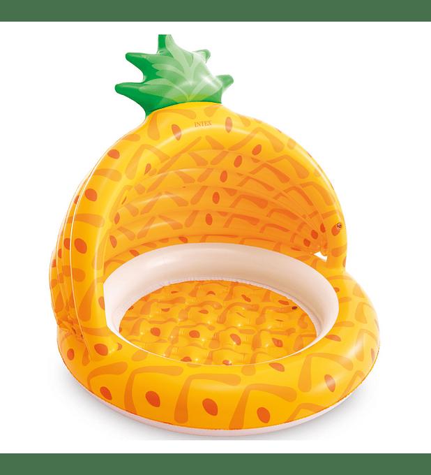 Piscina Bebé Inflable Intex Pineapple 102x94 Cm