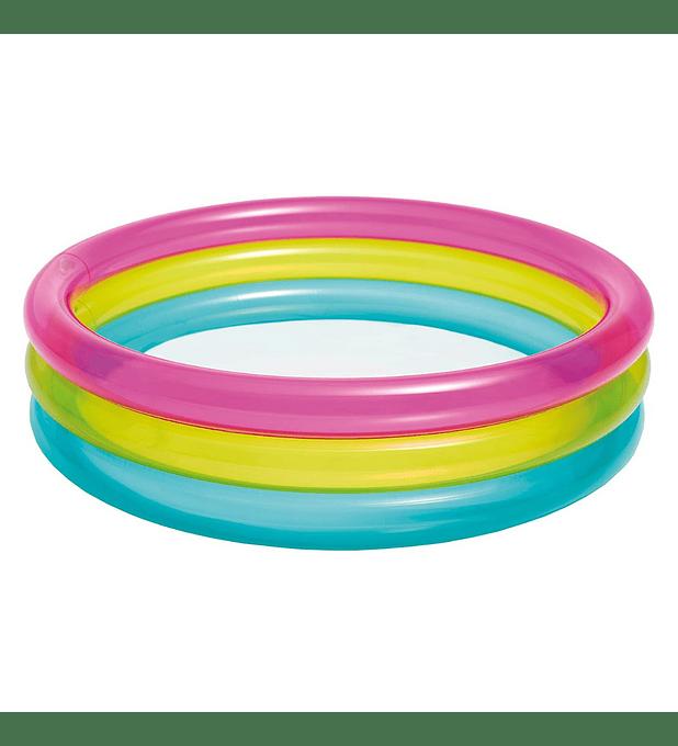 Piscina Bebé Inflable Intex Rainbow 86x25 Cm