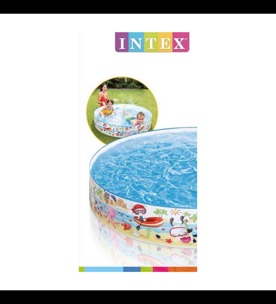 Piscina Rígida Intex Fun at the Beach Snapset 152x25 Cm