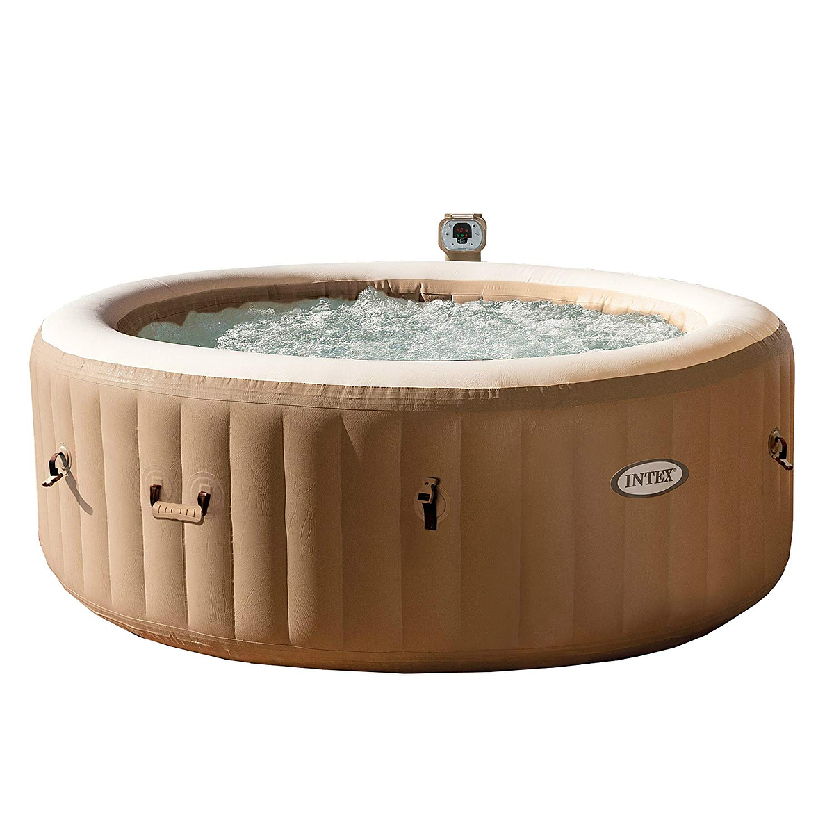 Jacuzzi Inflable Chile.Spa Jacuzzi Inflable Burbujas 4 Personas