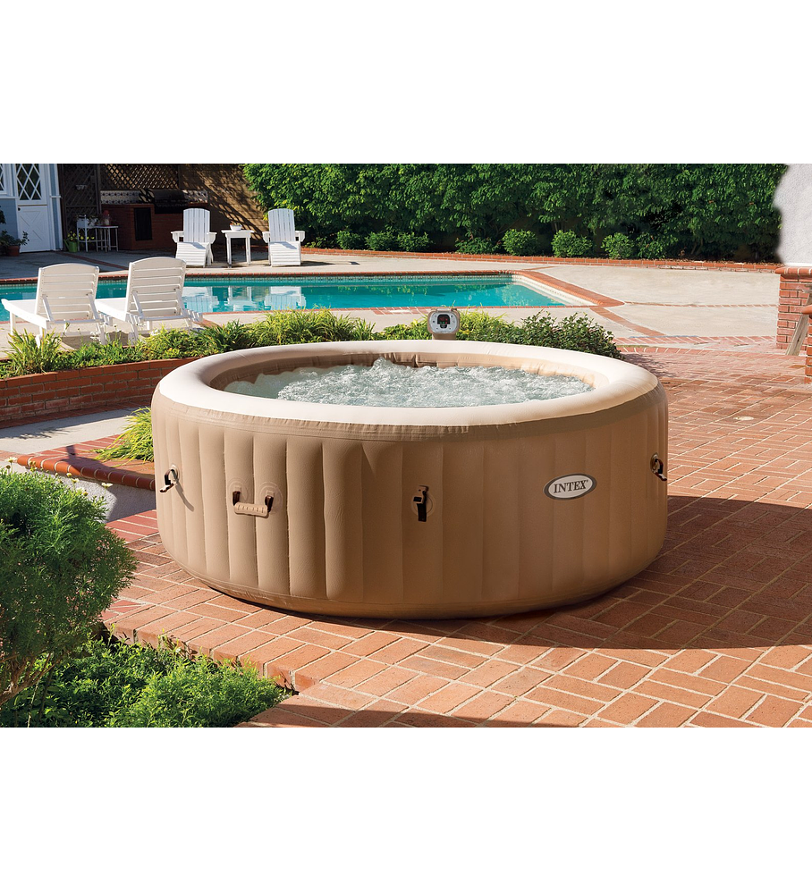 Jacuzzi Inflable Para 2 Personas.Spa Jacuzzi Inflable Burbujas 4 Personas