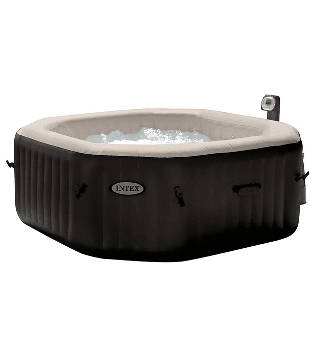 Spa Jacuzzi Inflable Premium Burbujas Octogonal 6 Personas