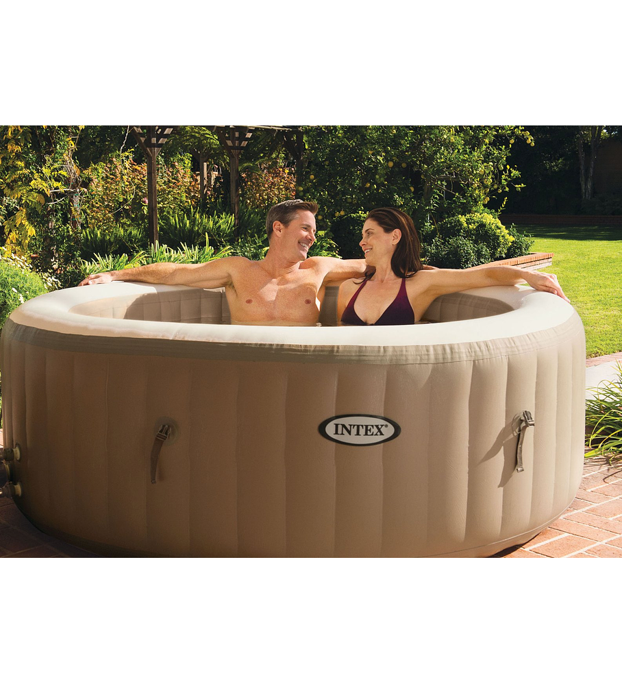 Spa Jacuzzi Inflable Burbujas 4 Personas