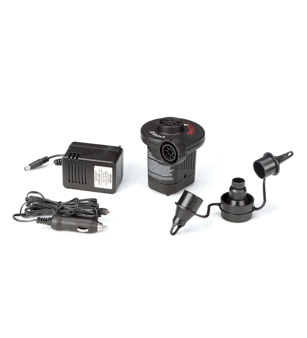 Inflador Electrico 220/240v Con Adaptador Para Auto