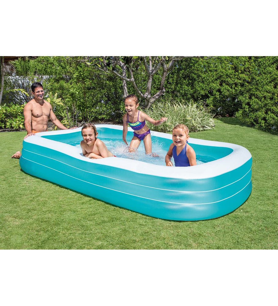 Piscina Familiar Swim Center 305x183x56 Cms