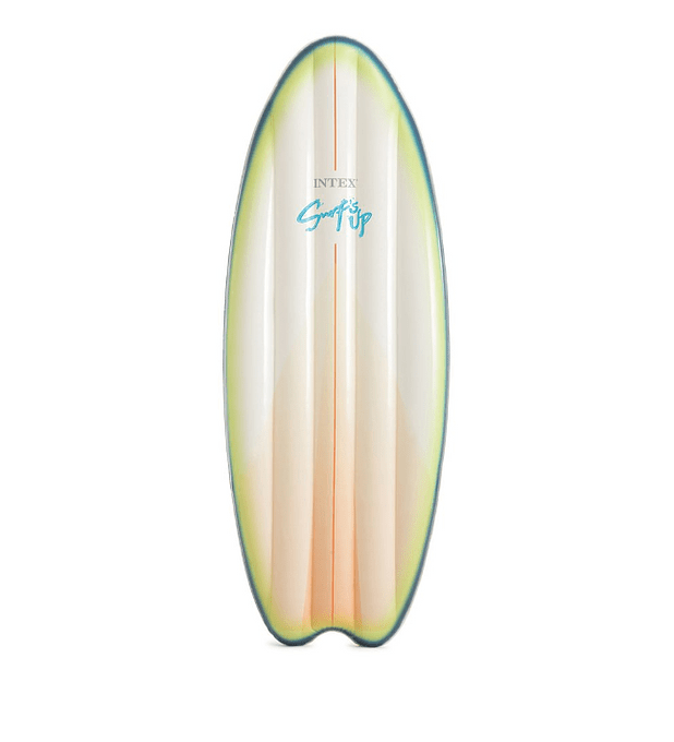 Flotador Tabla de Surf Blanco/Verde
