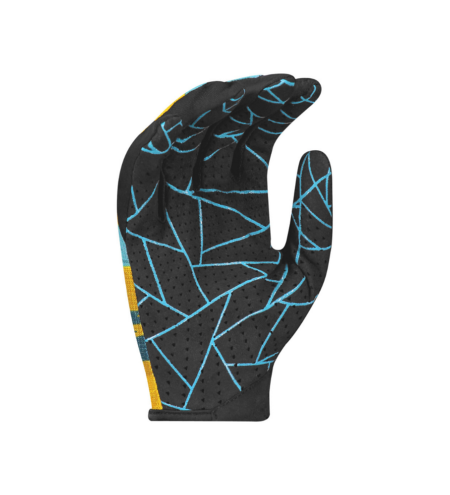 Guantes Bicicleta Traction Lf Ochre Yellow/blue