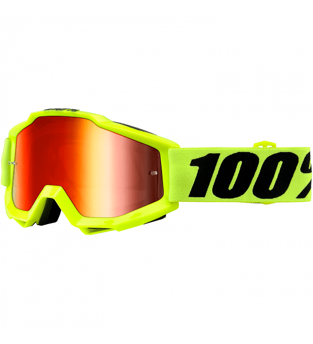 Antiparras Accuri Goggle Fluo Yellow/Red