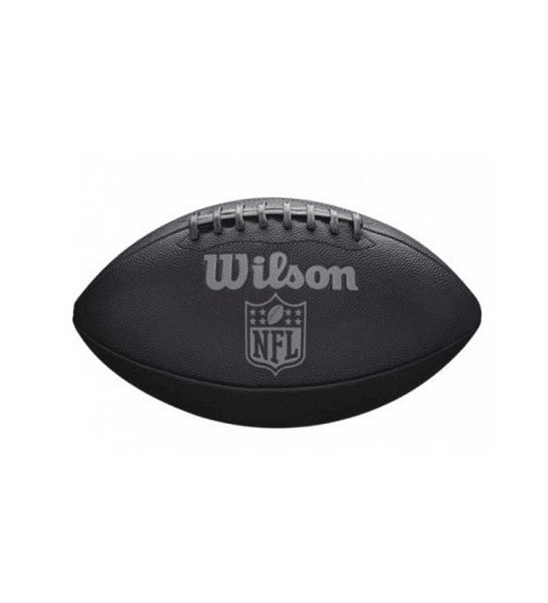 Balón Futbol Americano Nfl Jet Black Official Size Fb