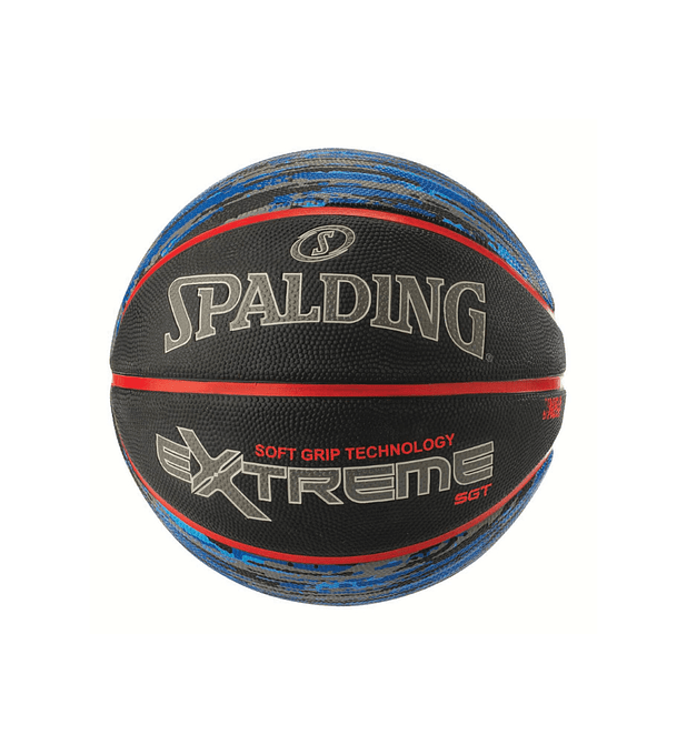 Balón Basketball Soft Grip Technology Extreme Pattern Series Blue