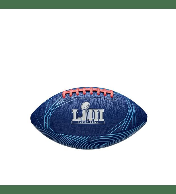 Balón Futbol Americano Nfl Super Bowl LIII Peewee
