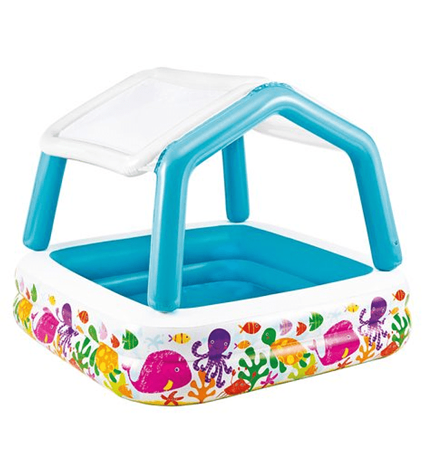 Piscina Inflable Quitasol 157x157x122 Cms